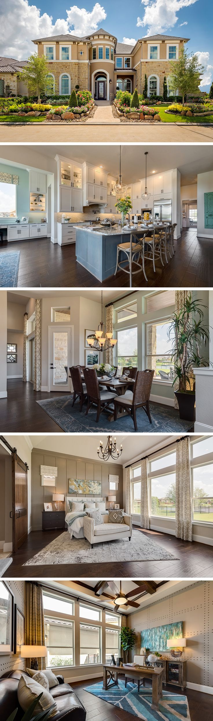 David Weekley is building award-winning homes in the beautiful community of Towne Lake- Sunset Harbor located in Cypress, TX. Here you will find a energy-efficient homes and a recreation center with tennis courts and fitness rooms. The Ashgrove offers 5 bedrooms and 5 full bathrooms, a 3 car garage, and 4957 square feet of spacious living areas. Visit our website to learn more about this home and the community of Towne Lake- Sunset Harbor.