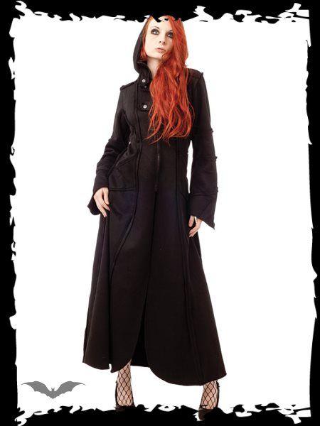 Dámsky kabát Queen Of Darkness JA1-234/11