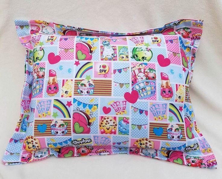 Shopkins Pillow, Daycare Pillow, NapTime Pillow, Travel Pillow, Toddler Pillow, Throw Pillow, Decor Pillow, Pet Pillow, Car Pillow, Gift by ItyBityBigGirlStore on Etsy