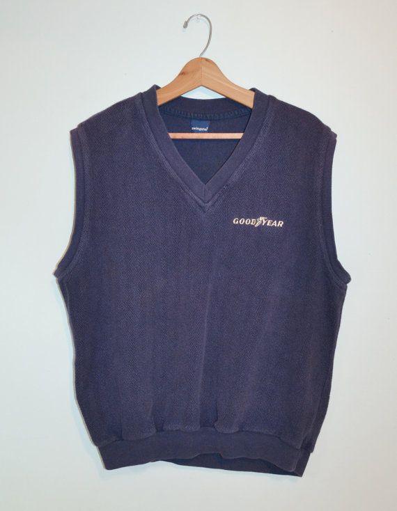 Vintage Muscle Shirt Men's Goodyear Shirt 70s by founditinatlanta, $45.00
