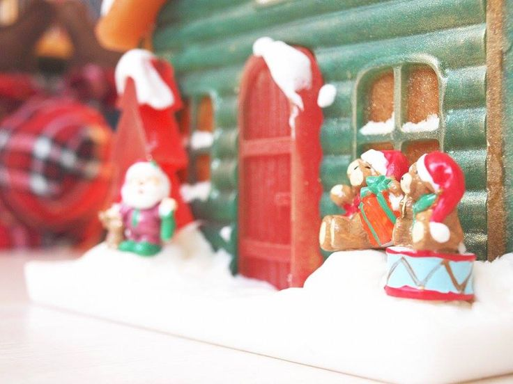 https://www.facebook.com/AstProducts  Christmas House totally made of glycerine soap. #astproducts #soap #christmas #house