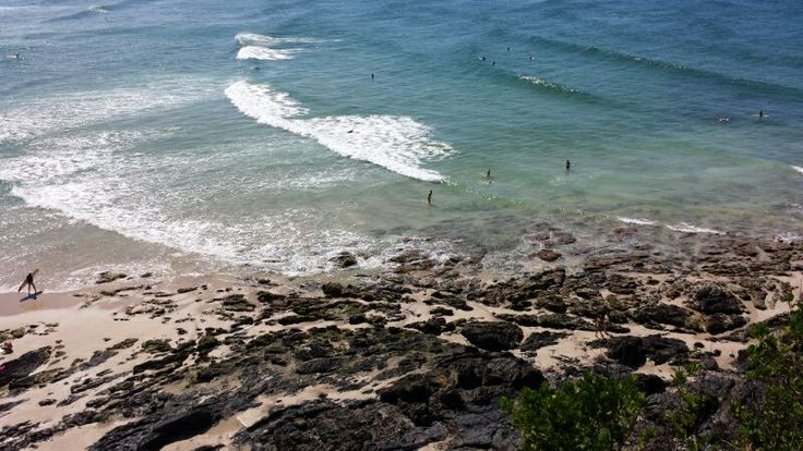 View from the lighthouse in Byron Bay