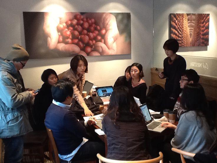 공중텃밭 디자인 회의
