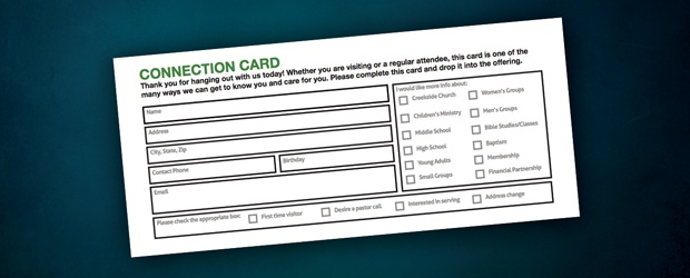 connectioncard: Connection Cards