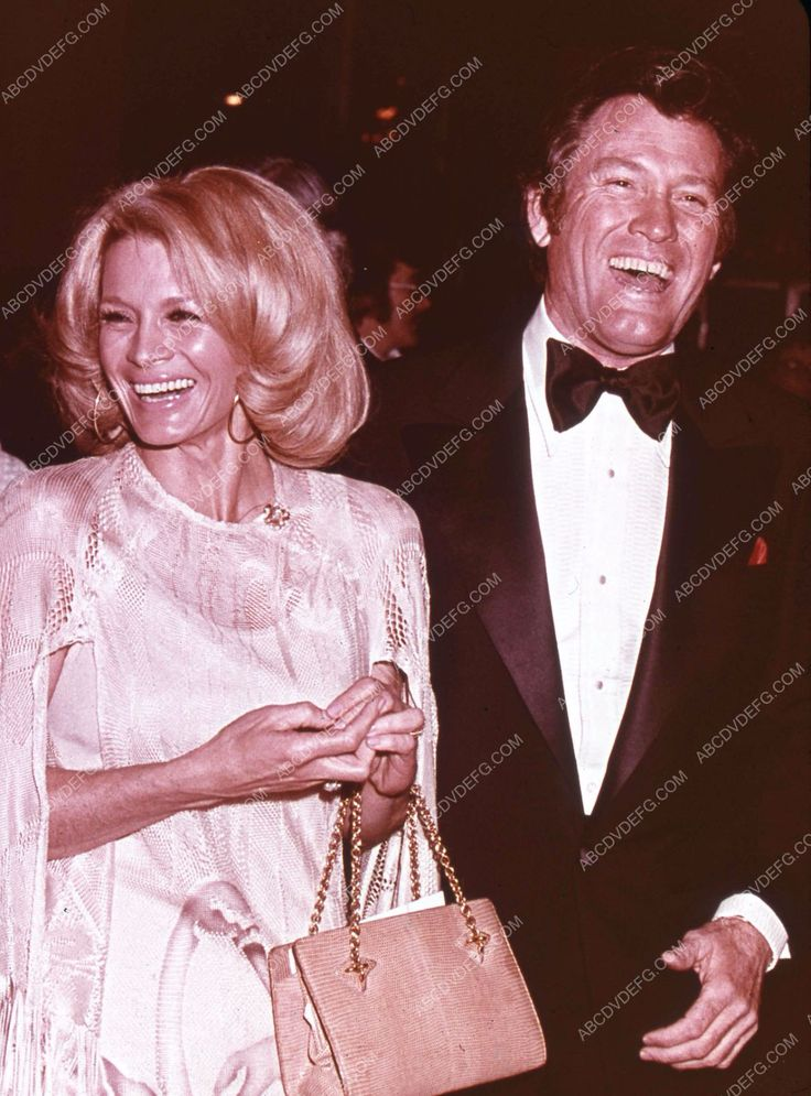 great candid Angie Dickinson Earl Holliman at some event 35m-2806