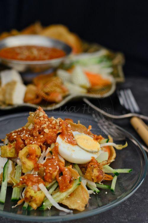Pasembur/ Malaysian Indian Salad has a gorgeous spicy taste