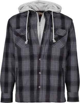 db739965806 Natural Reflections® Women s 2-in-1 Hooded Flannel Shirt   Cabela s ...