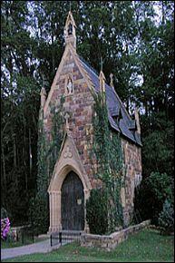 St. Catherine's at Bell Gable Chapel, Fayetteville, AR - Ozarks Region