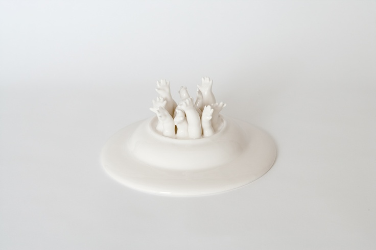 Hand made ceramics from Barcelona >> Studio Krasznai Arms>> Керамика из Барселоны