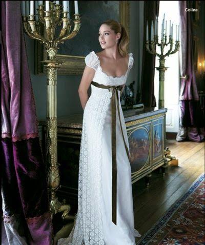 Patrón gratis: vestido Burda corte imperio (tallas 34-44) - yo elijo Coser