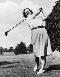 """Patricia """"Patty"""" Berg is one of the founding members and then leading professional golfers on the Ladies Professional Golf Association (LPGA) Tour during the 1940s, 1950s and 1960s. Her 15 major title wins remains the all-time record for most major wins by a female golfer. She is a member of the World Golf Hall of Fame.: Favorite Golfer, Female Golfer, Golf Association, Golf History, Golf Vintage, Golf Galleries, Lady Golfer, Golf Hall, Golf Mi Passion"""