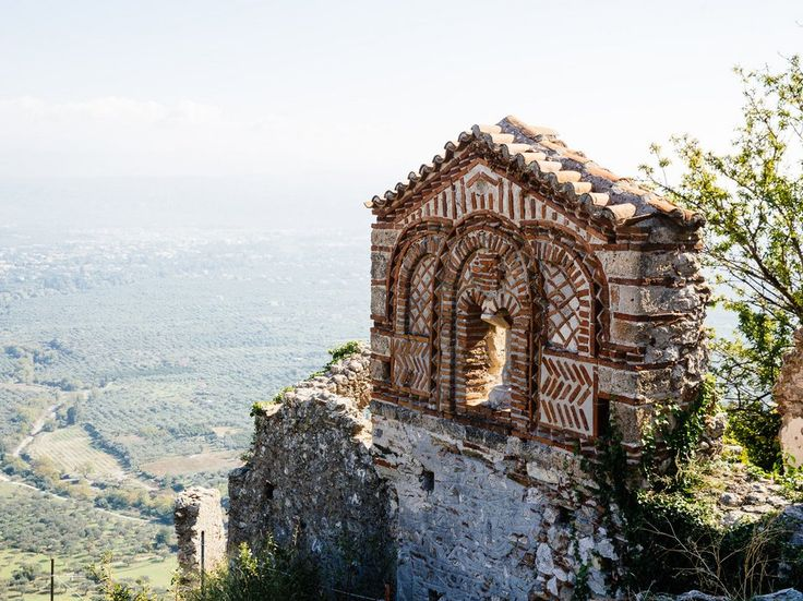 Your last stop in Laconia should be the ancient town of Mystras, a UNESCO World Heritage Site built in the 13th century, tucked at the foothills of the Taygetos mountains. Pull over and wander slowly through its empty streets, admiring the medieval houses, churches, and impressive array of beautiful, fading frescoes. At the top, gaze out upon miles and miles of southern Greece and bid farewell to the region before your journey back to Athens.