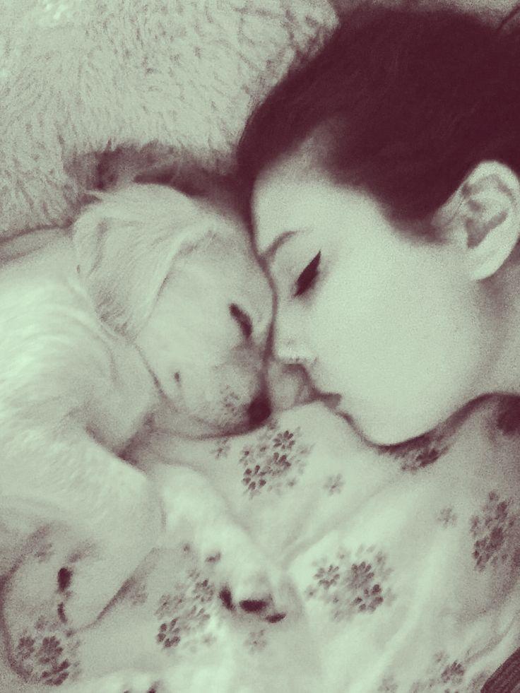 Goodnight Golden Lady #goodnight #love #goldenretriever