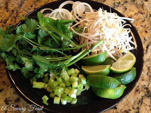 Vietnamese Rice Noodle Soup with Beef