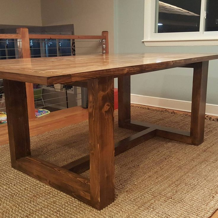 BOOM!! Modern Table, Clean Lines All Delivered And Its On Point In Their