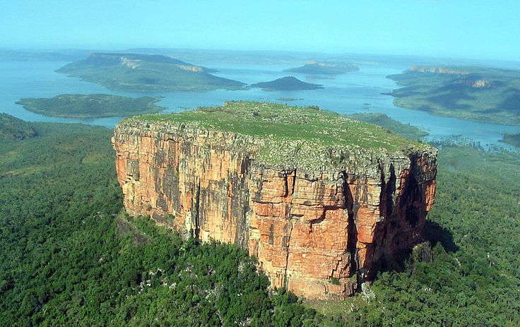 Mt Trafalgar in Brunswick Bay near Prince Regent Nature Reserve as seen on the flight to Mitchell Falls included in our Kimberley Australian Outback tour