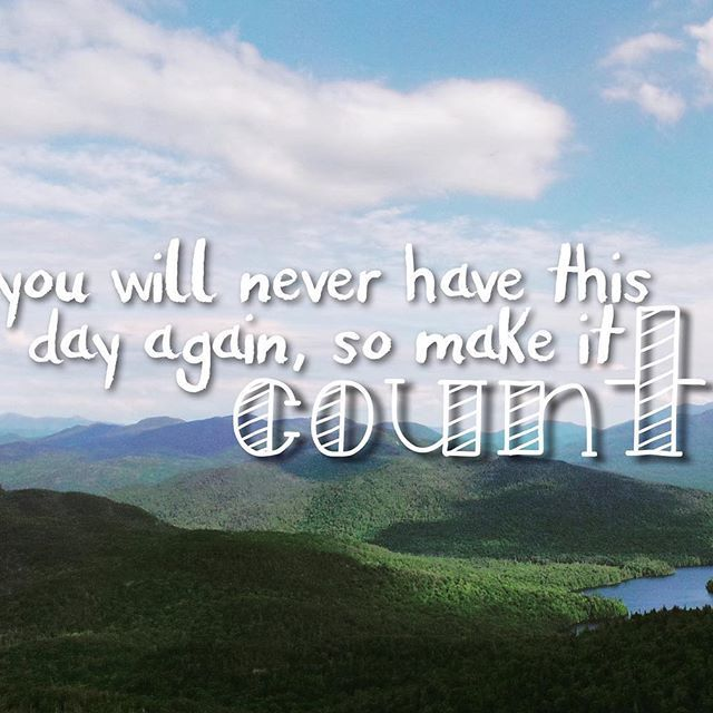 Make today count! #lds #mormon #christian #sharegoodness #armyofhelaman #helaman
