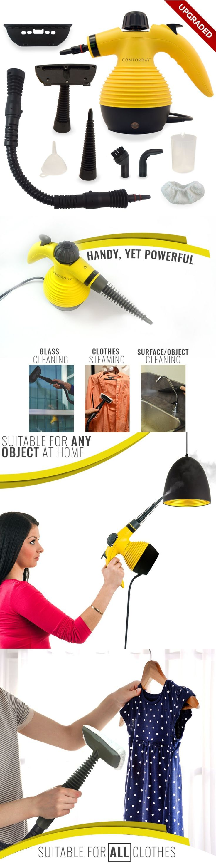 Wallpaper Tools and Accessories 180112: Handheld Multi Purpose Steam Cleaner Compact Design Ideal For Carpet, Floor, Veh -> BUY IT NOW ONLY: $38.11 on eBay!