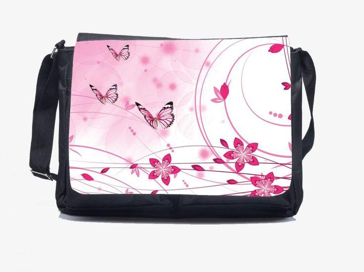 Rózsaszín pillangók - Oldaltáska Butterfly shoulder bag Order here: http://www.oldaltaska.hu hello@oldaltaska.hu