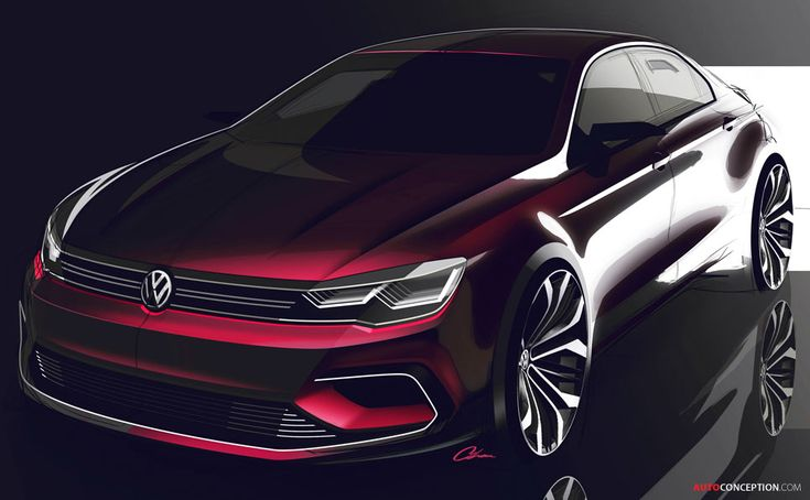 Volkswagen Targets Mercedes with New 'NMC' Concept