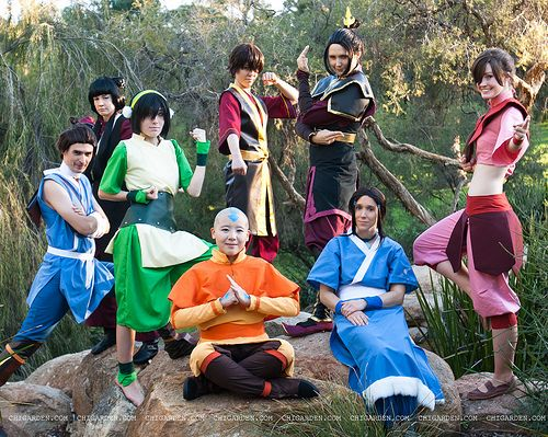 avatar the last airbender cosplay - Google Search