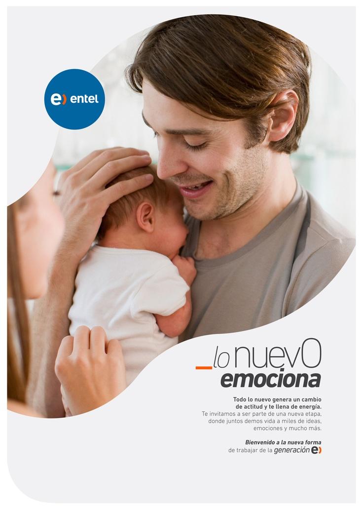 Campaña de endomarketing para el lanzamiento de la nueva forma de trabajar en Entel.