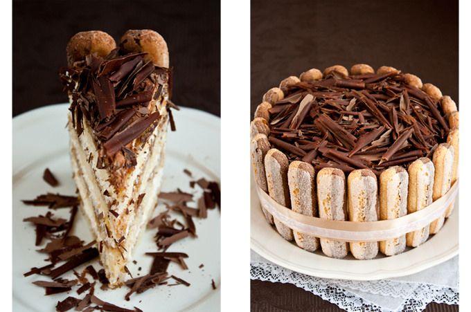 Торт Тирамису –  главное не жалейте кофейного сиропа, тогда торт получится необыкновенно влажный и ароматный!