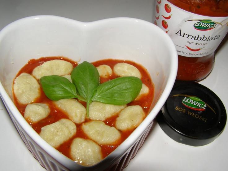 Gnocchi Arrabbiata http://smacznieidietetycznie.blox.pl