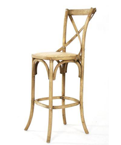 parisienne caf bar stool natural oak