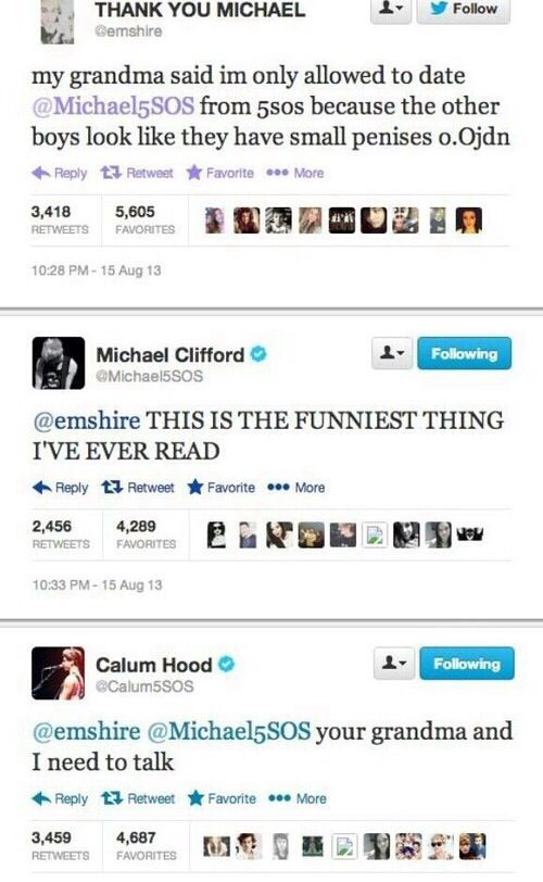 Funny 5SOS Tweets and Texts - http://ebooks2buy.biz/photojobs (Make Money With Your Photos worö wide)
