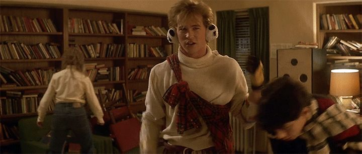 Real Genius, Chris Knight, why do I bother gif
