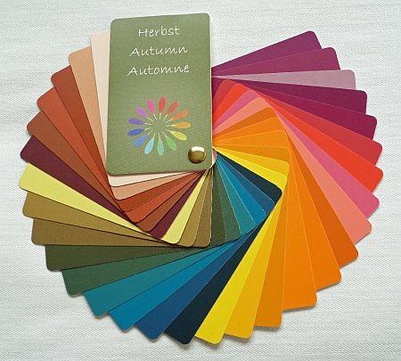 Der Herbsttyp und seine Farben