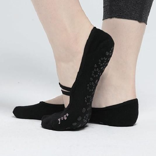 2 Colours Women Anti Slip Cotton Yoga Socks Ladies