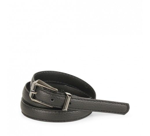 Jana Belt in black leather // Markberg