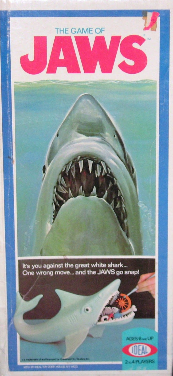 The Game of Jaws: It's you against the great white shark....