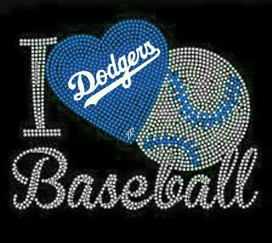 Love Dodgers Baseball
