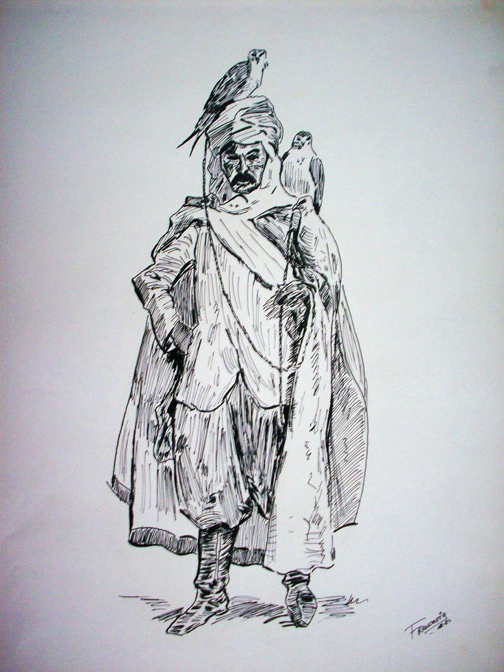 Ink on paper - Tinta sobre papel