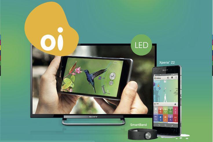 Sony e Oi: compre um Xperia™ Z2 e ganhe uma TV de 32 polegadas - Blog Sony Xperia Brasil