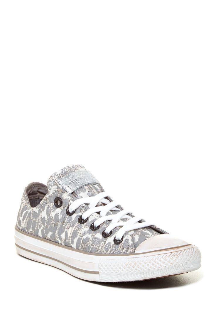 Leopard Converse sneakers for the weekend warrior.