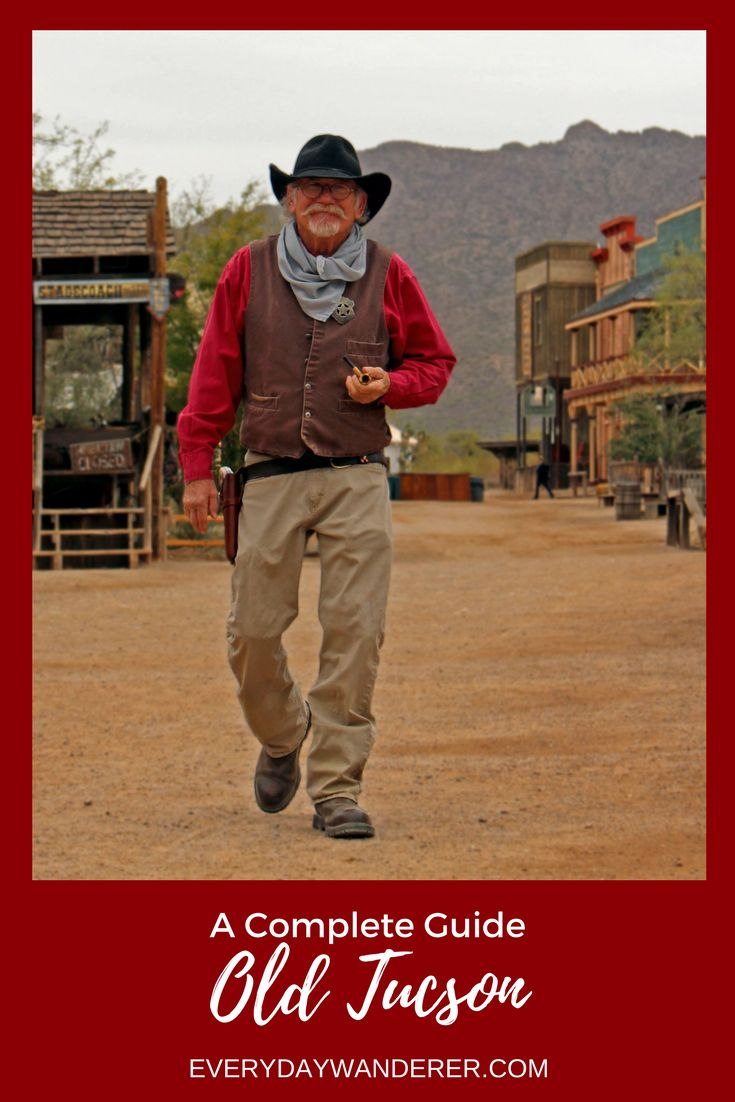 Gun smoke and gambling - your complete guide to a great day at Old Tucson in Arizona | #arizona #oldtucson #visitAZ | Train | Reno | Old West | Wild West | Western | Westerns