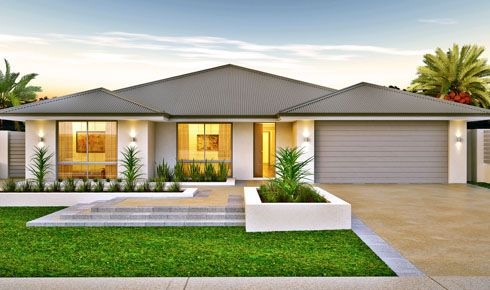 Metrostyle Home Designs: The Libson. Visit www.localbuilders.com.au/home_builders_perth.htm to find your ideal home design in Perth