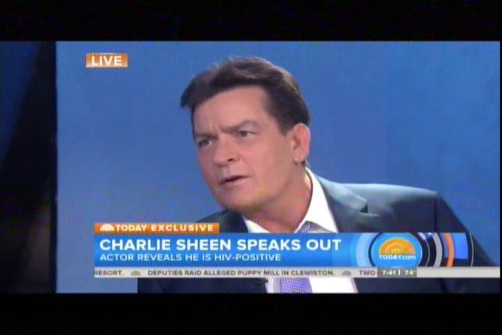 El Actor Charlie Sheen Habla En Exclusiva Y Revela Que Es VIH-Positivo #Video