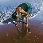 Pipi Picker by New Zealand artist Barry Ross Smith