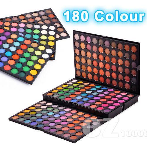Professional 180 colour Eye shadow Eyeshadow palette Shimmer / Matte Eye Makeup