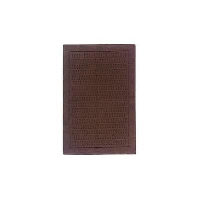 "Mainstays Dylan Nylon Rug 2'6"" X 3'10"" Brown"