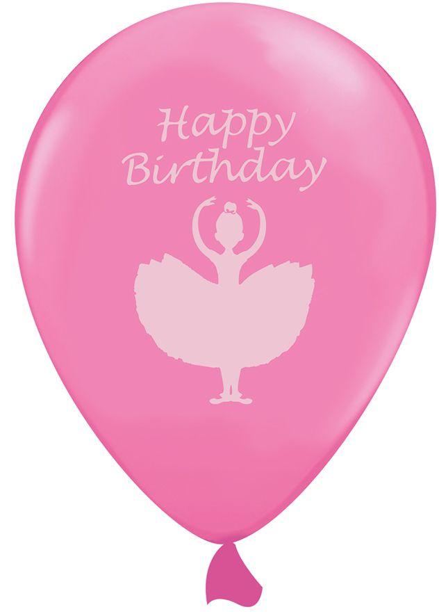 6 palloncini rosa con ballerina su VegaooParty, negozio di articoli per feste. Scopri il maggior catalogo di addobbi e decorazioni per feste del web,  sempre al miglior prezzo!