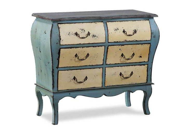 Celeste 6 Drawer Accent Chest By Cambridge Home American Furniture Shabby Chic Furniture Furniture Warehouse