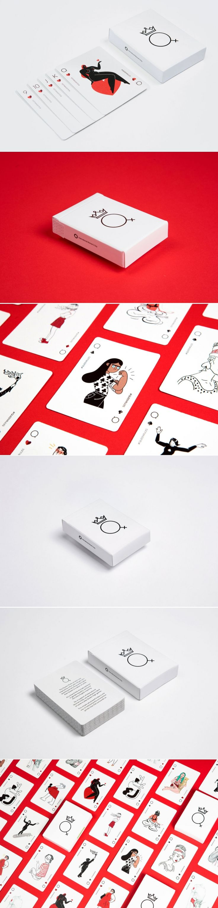 In This Card Game The Queens Rule The House — The Dieline | Packaging & Branding Design & Innovation News