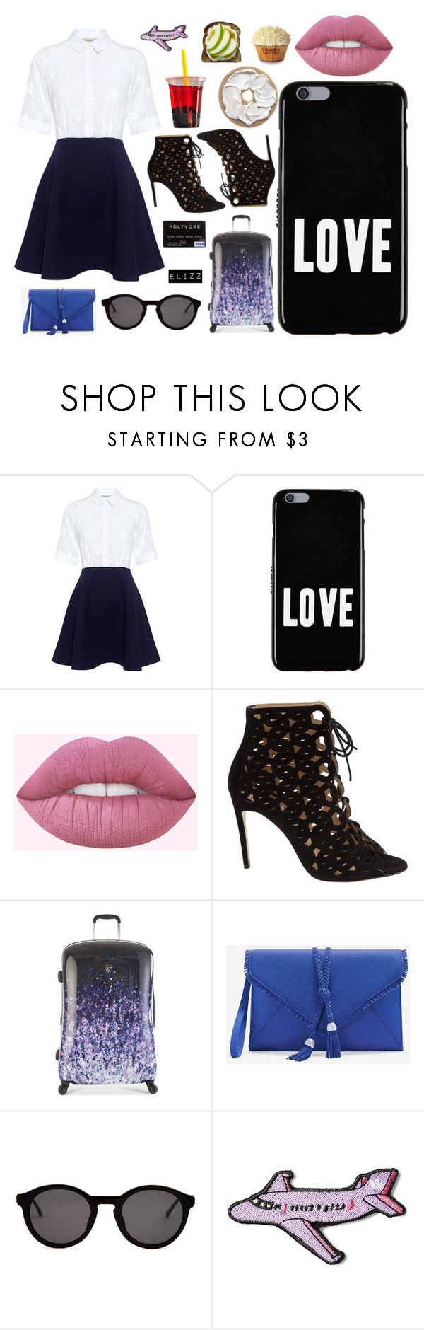 """Better Then KIm"" by elizz-denne on Polyvore featuring Paul & Joe Sister, Givenchy, Bionda Castana, Heys, White House Black Market, Thierry Lasry and Stoney Clover Lane"