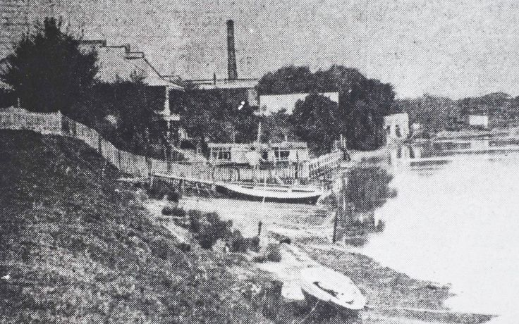 Parramatta Landing Site of Governor Phillip 1788
